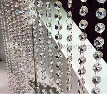 nuovo cristallo alto cristallo di alta qualità centrotavola decorazione navata di nozze matrimoni, grande decorazione di eventi
