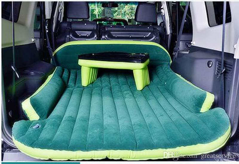 Suv Inflatable Mattress With Air Pump Travel Camping