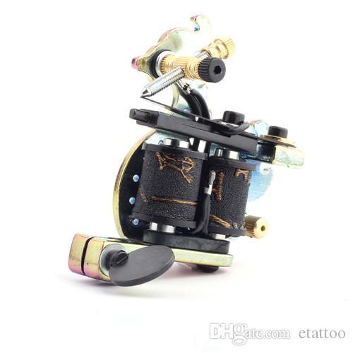 New Arrival Handmade Tattoo Machine Gun Permanent Makeup 10 Wrap Coils Tattoo Gun For Body&Art