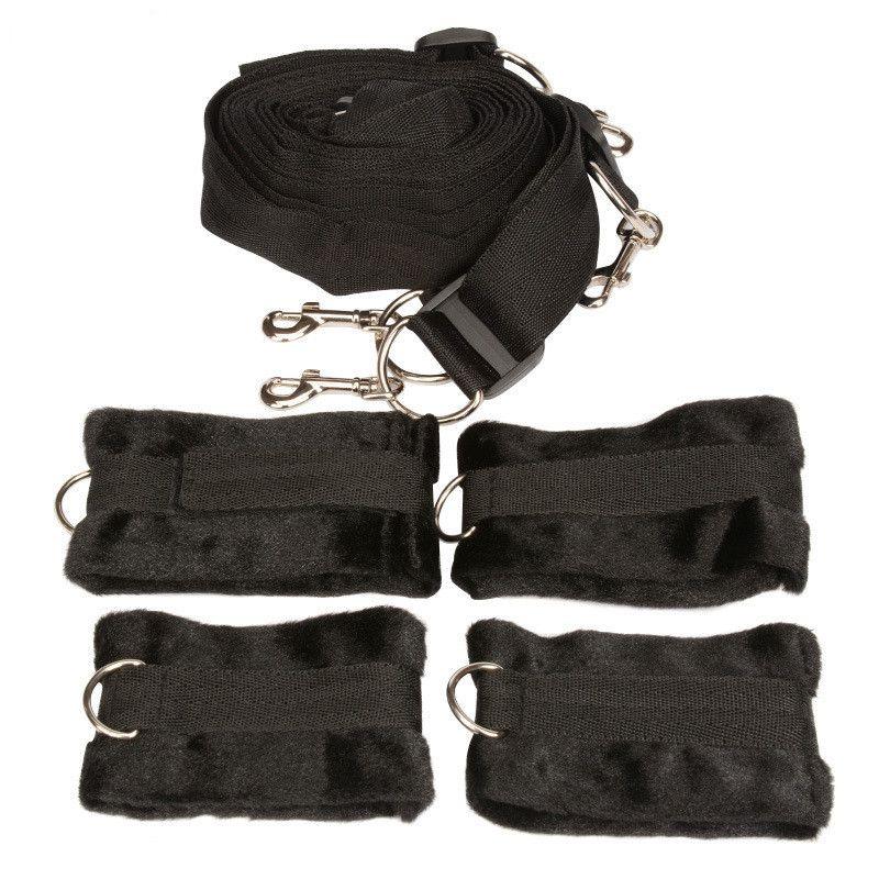 Sous le lit matelas système de retenue avec menottes poignets poignets BDSM Bondage Gear adultes jouets sexuels Produits pour les couples jeu sexuel XLF1145