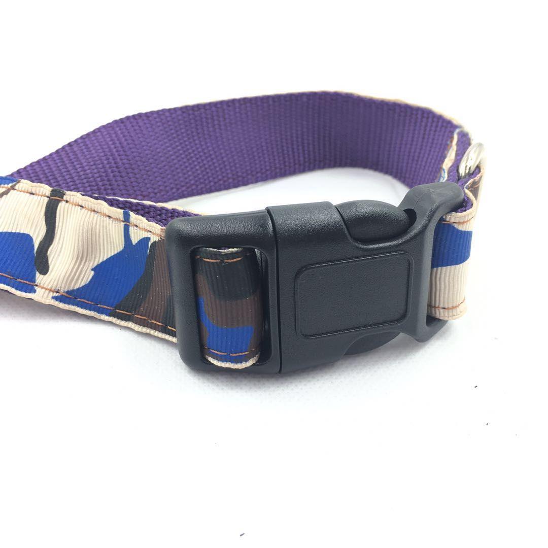 Tactical Dog Collar Handle Buckle Adjustable Training Dog Strap Ring