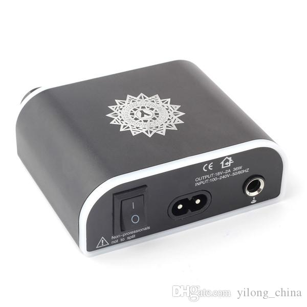 New Black Color LED 3 Digital Display Tattoo Power Supply For Tattoo Kits Permanent Makeup Power Supply Tattoo