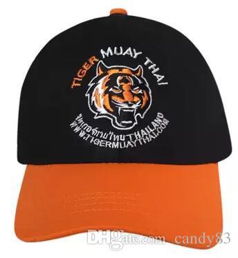 b09a338cd46 Man Hats MMA Baseball Caps Tiger Muay Thai M048 Black Baseball Cap Army Cap  From Candy83