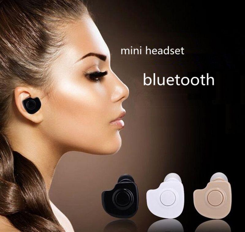 WYJ новый Мини Bluetooth 4.1 Наушники Стерео Свет Беспроводные Невидимые Наушники S530 Супер Гарнитура Музыка ответить на звонок Горячий продавать