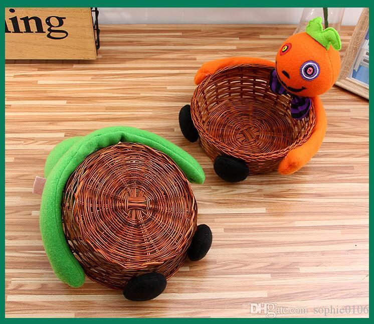 Cadılar bayramı Peluş Oyuncaklar Meyve Şeker Çerezler Kutu Sepetleri KTV PUB Süs Dekor JMT 004