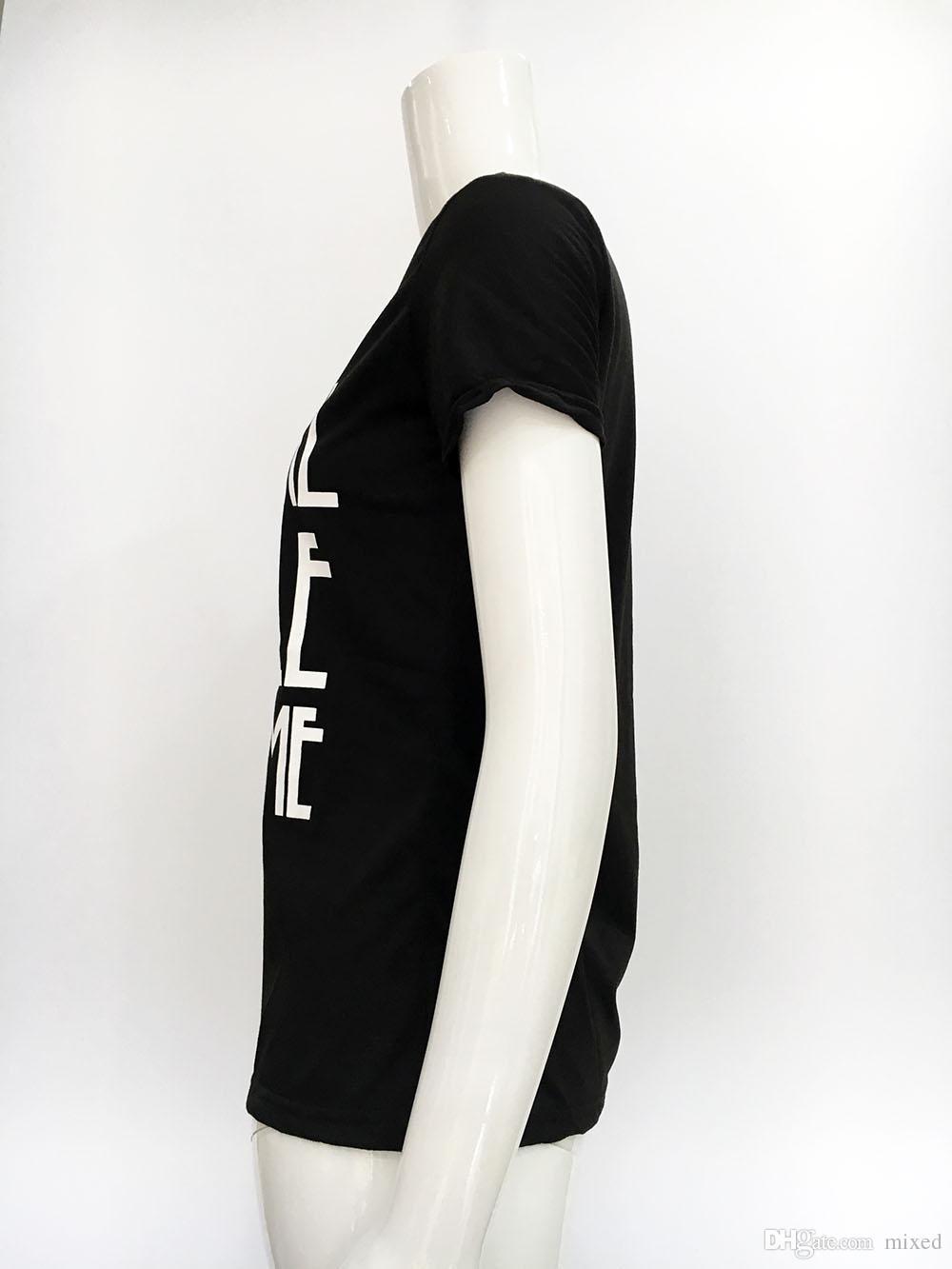 Письмо шаблон женские рубашки лето с коротким рукавом женские женские повседневные ватные топы блузки плюс размер XXL