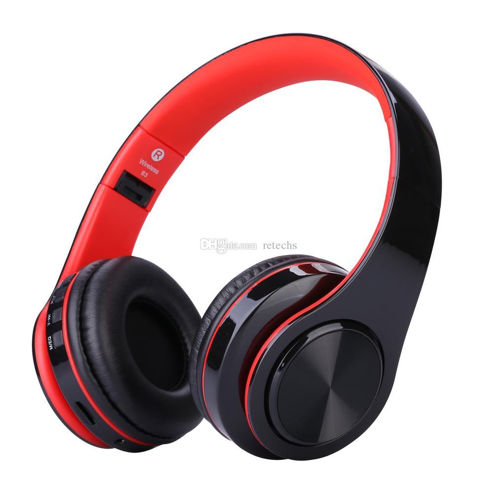 WH812 fones de ouvido sem fio portátil Bluetooth V4.0 + EDR fone de ouvido sem fio com leitor de mp3 Micphone Suporte Mini SD TF Cartão