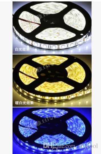5M 낮은 압력 12V 밝은 5050 3 크리스탈 슈퍼 밝은 패치 방수 전화 쥬얼리 카운터 전구와 Led 조명