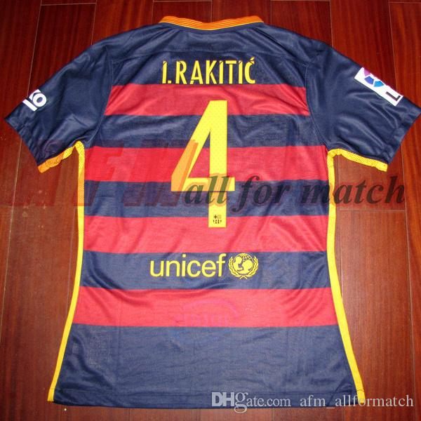 finest selection fdee0 e5295 RUGBY Gracies Johan 15/16 Match Worn Player Issue Shirt Jersey S/S Messi  Suares Neymar Rugby Football Custom Name Number Patches Sponsor