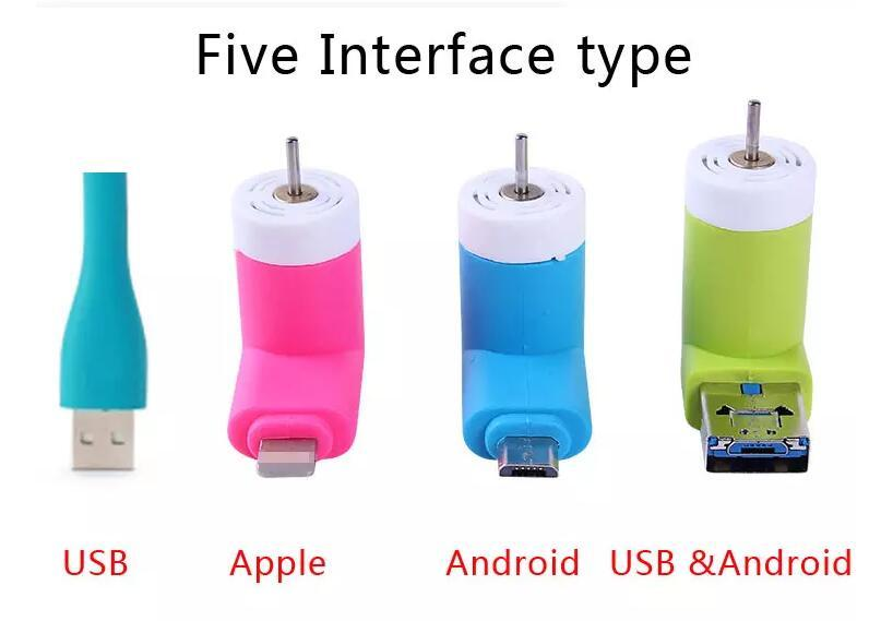 Portable Mini Micro USB Fan by Smartphone Cell Phone Power Mobile Phone Fan Cool Cooler For Android or iPhone Multi-Function Fan