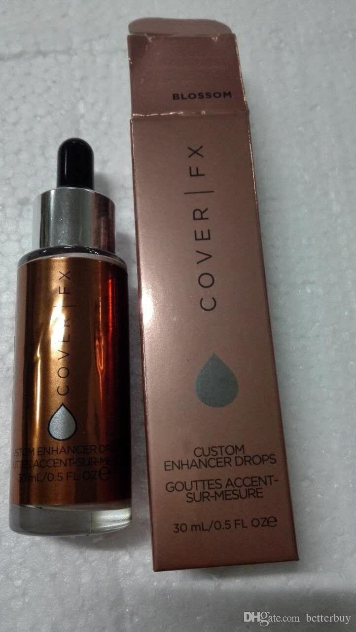 New Cover FX Custom Enhancer Drops Face Highlighter Powder Makeup Glow colors 15ml liquid Highlighters Cosmetics
