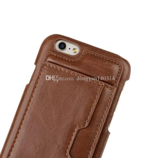 2017 Luxury Multifunction Wallet Case PU & TPU Card Solt Stand Cover For iPhone 7 6s 6 7 Plus 6s plus