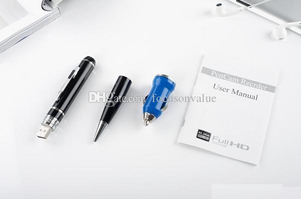 Full HD 1080 P Stylo DVR H.264 mini stylo caméra 8 GB 16 GB Mini DV Enregistreur Vidéo Avec Motion Detetction HDMI Port