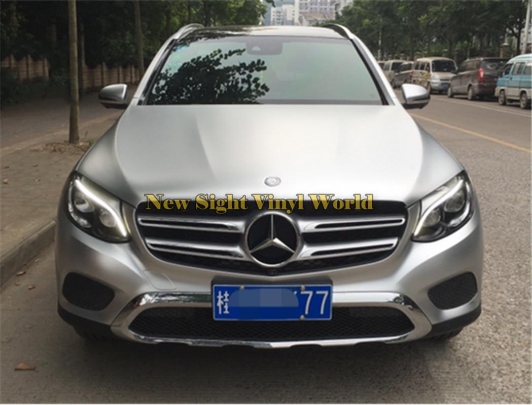 Best Quality Silver Electric Chrome Vinyl Foil Car Wrap Film For Car Styling Air Bubble Free