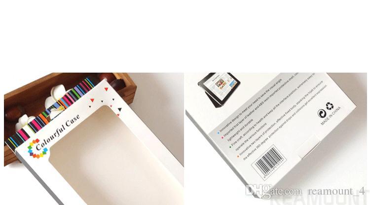 Großhandel Papierverpackungen für Ledertasche für Pad Mini 2 Mini 4 Fashion Design Schutzverpackung Box mit Fenster