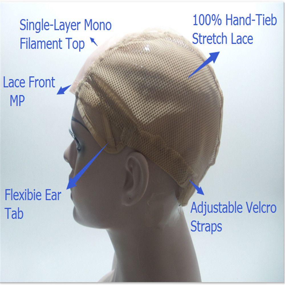Luxus Mode Perücken Brasilien Jungfrau-haar% 100 Menschenhaar Volle Spitzeperücken Nahtlose Dichte 150% Haar Gerade Haarfarbe Goldene Farbe # 27 KABELL