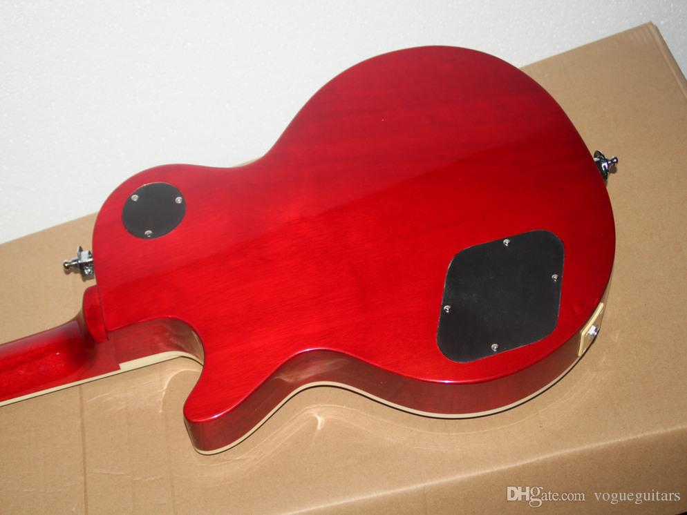 Frete Grátis Nova Chegada Amarela Guitarra Elétrica Guitarra Atacado Personalizado