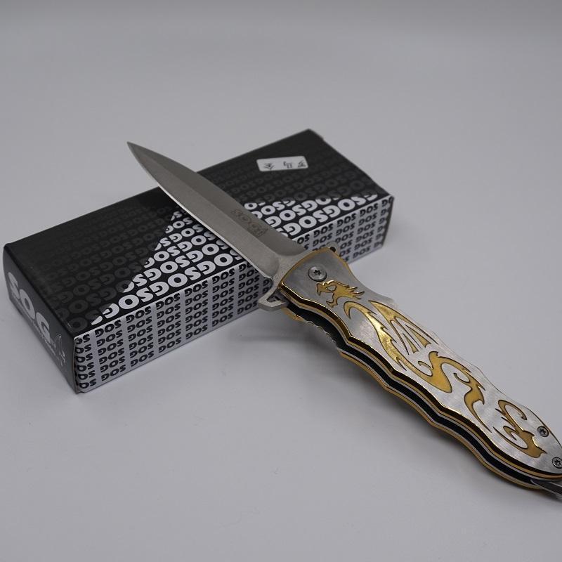 2017 SOG Katlanır Pocket Knife Kamp Avcılık İsviçre Ordusu Bıçaklar 420 Paslanmaz Çelik Çok EDC Araçları Naylon Ceket Ile En Iyi Survival Bıçaklar