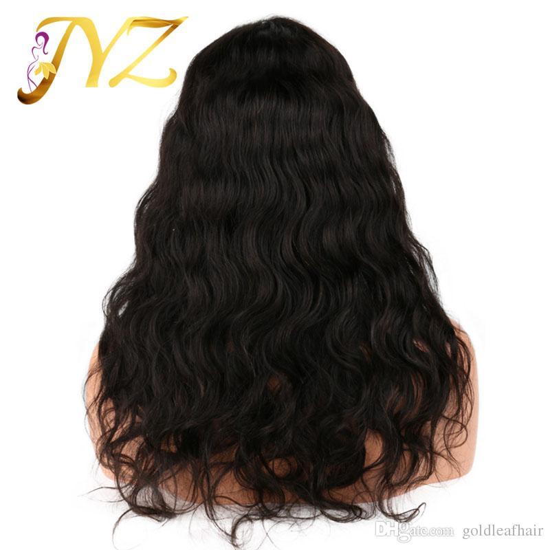Populaire Big Body Wave Perruques De Cheveux Humains Blanchis Noeuds Plein Dentelle Perruques Brésiliens Malaisiens Moyenne Taille Suisse Dentelle Cap Avant de Lacet Perruques