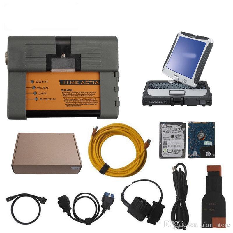 Для BMW ICOM a2 с ноутбуком V2019.3 icom a2 B C Автодиагностика Программирование сканера модель инженера для bmw icom a2 2019