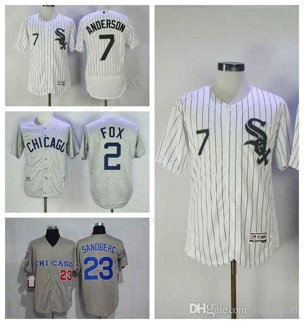 1afaf8af8 greece chicago white sox 2 nellie fox 1960 gray throwback jersey 842cf c7ad0