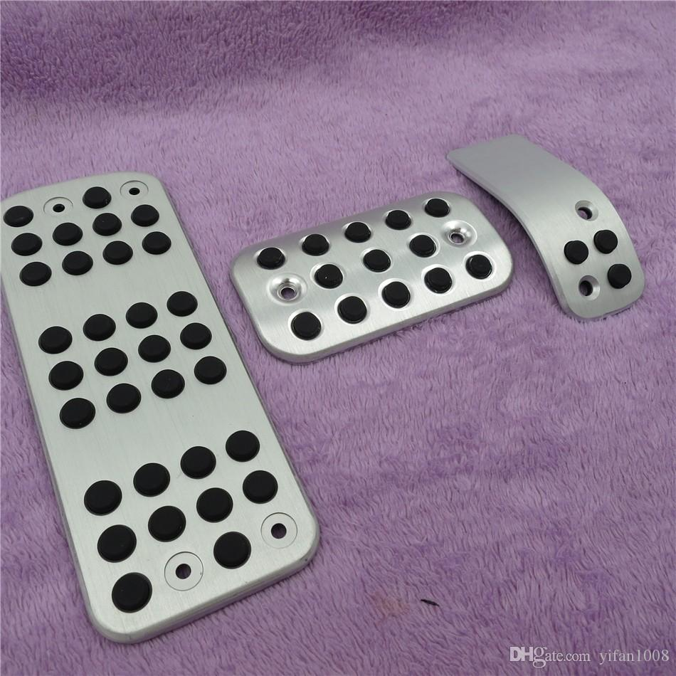 For Peugeot 206 206CC Fuel Brake Foot Rest AT/MT pedals Plate Non slip Accelerator brake pedal Pads