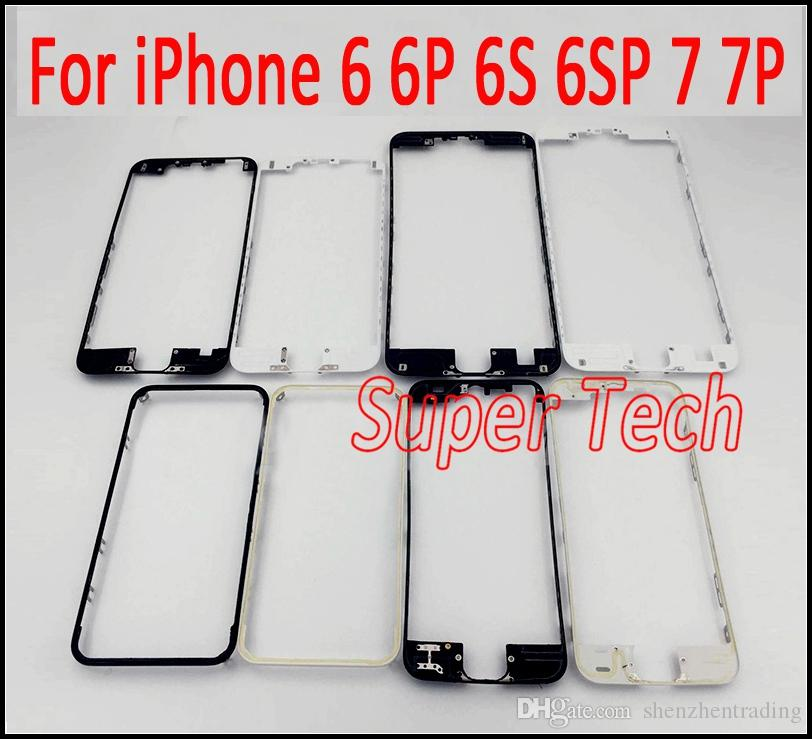 Front Middle Frame Bezel LCD Holder Replacement for IPhone 6 6S 6 ...