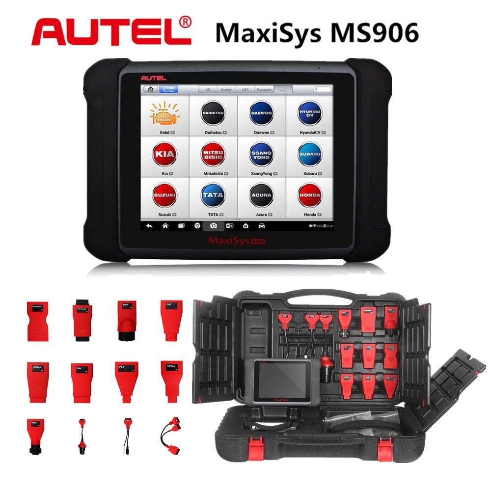 100% Original AUTEL MaxiSYS MS906 Update Online Free 2 Year replace of  Autel MaxiDAS DS708 Auto Diagnostic Scanner