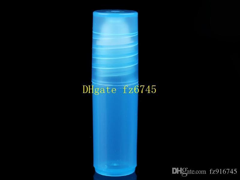 Rotolo di plastica di / 3ML sulla bottiglia gli oli essenziali in bottiglie riutilizzabili Campione del profumo del campione del pacchetto del profumo