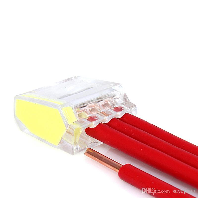 Suyep Push-in Wire Connector Dosenklemmen Compact Terminal Block PC-25X/PC25X-CL/PC25XX-CL Assortment Kit