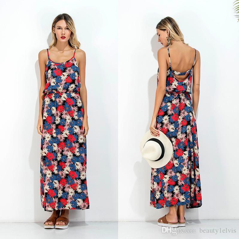 Summer long dresses images