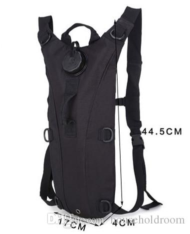 High Quality Outdoor Sports 3L Water Backpack Hiking Climbing Camping Tactical Hydration Packs Water Bags