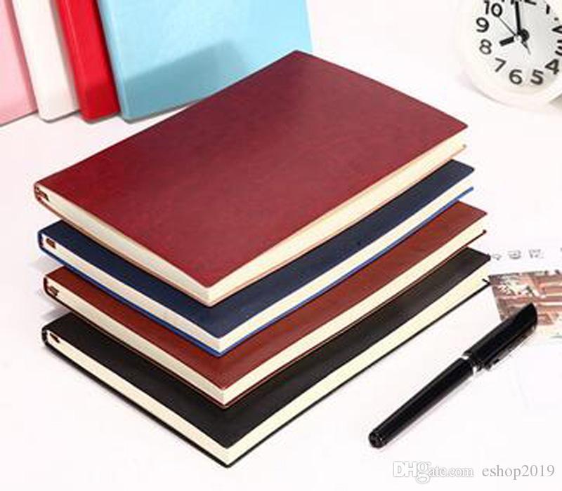 2017 nuovo notebook in pelle PU blocco note personalizzato diario ufficio fabbrica diretta business piccolo libro spedizione gratuita