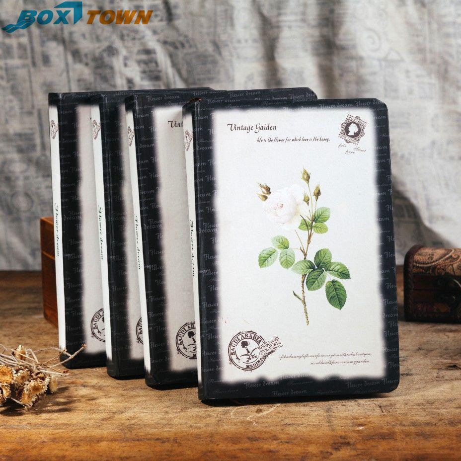 Creative Design To Cover Notebook ~ 2018 notebook paper vintage gaiden flower dream creative design