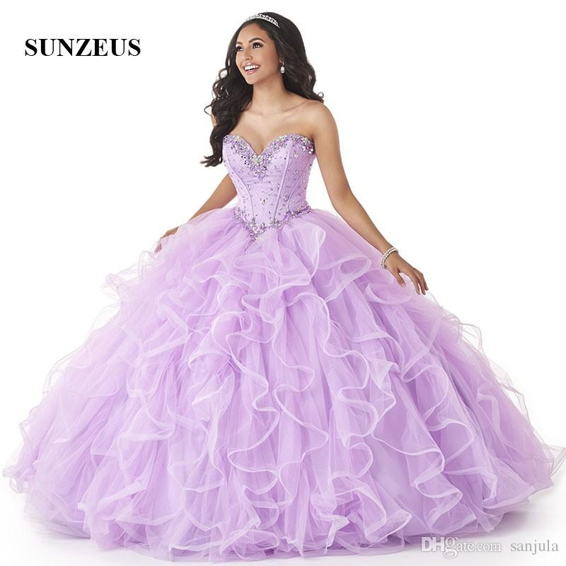 Light Purple Puffy Quinceanera Dresses | www.pixshark.com ...