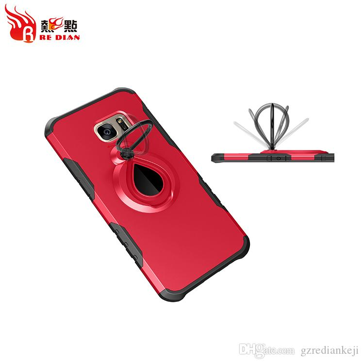 Popular Design Protective Phone Case tpu pc two in one Shockproof cover for  samsung S7 S8 S8plsu Note8 A3/A5/A7 2017
