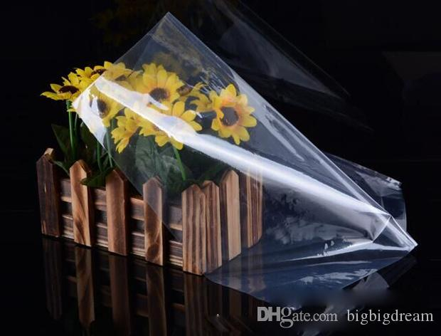 PVC Heat Shrink Wrap Film Bag Membrane Plastic Packaging Film Transparent Heat Shrinkable Storage Bag Pouch