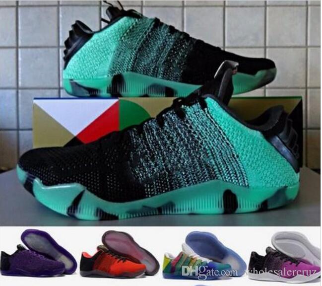 newest 5004d 9d4f7 Compre Nuevos Zapatos De Baloncesto Baratos De Kobe Xi Elite Para Hombre  Zapatos Deportivos De Senderismo Deportivo Al Aire Libre Kobe 11 Low  Basketball ...