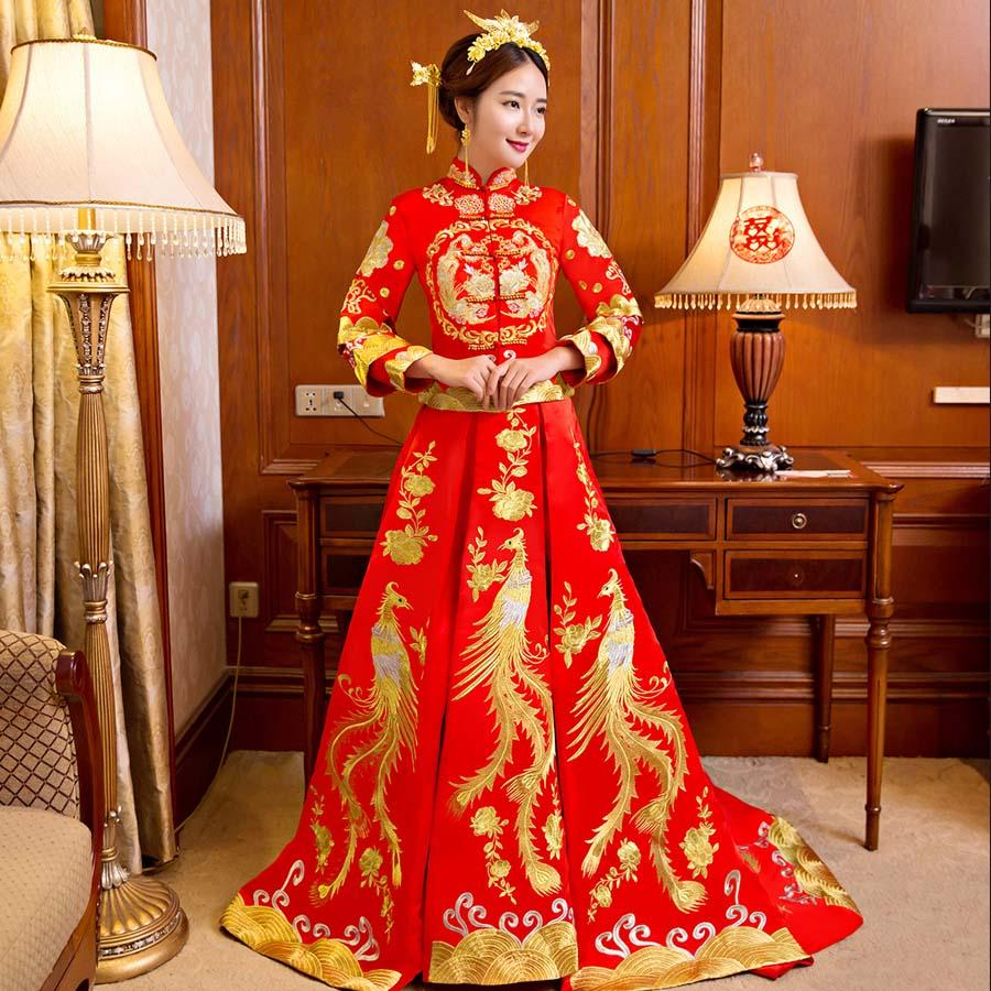 Xiu He Service 2017 New Spring And Summer Dragon And Phoenix Gown ...