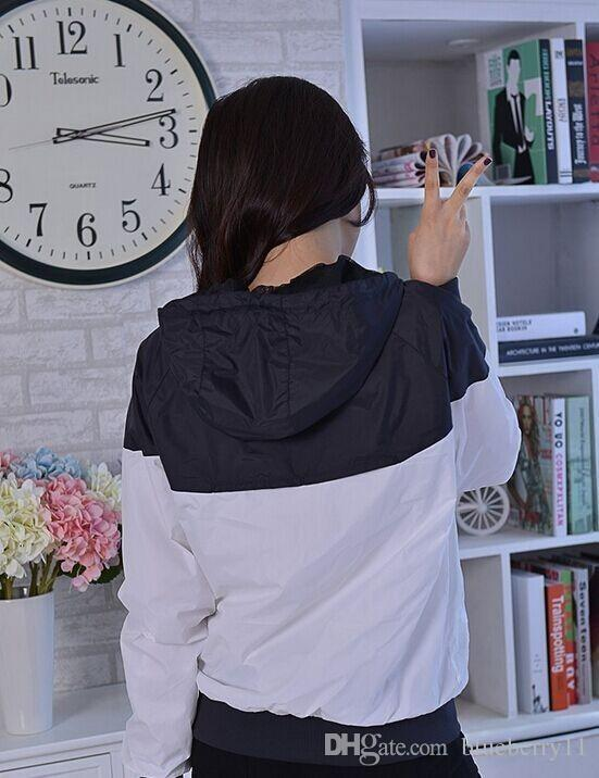 Fall thin windrunner Men Women sportswear high quality waterproof fabric Men sports jacket Fashion zipper hoodie plus size 3XL