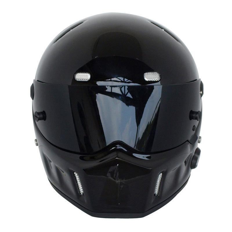 1996 Motorcycle Helmet For Simpson Style Street Pig Bandit For