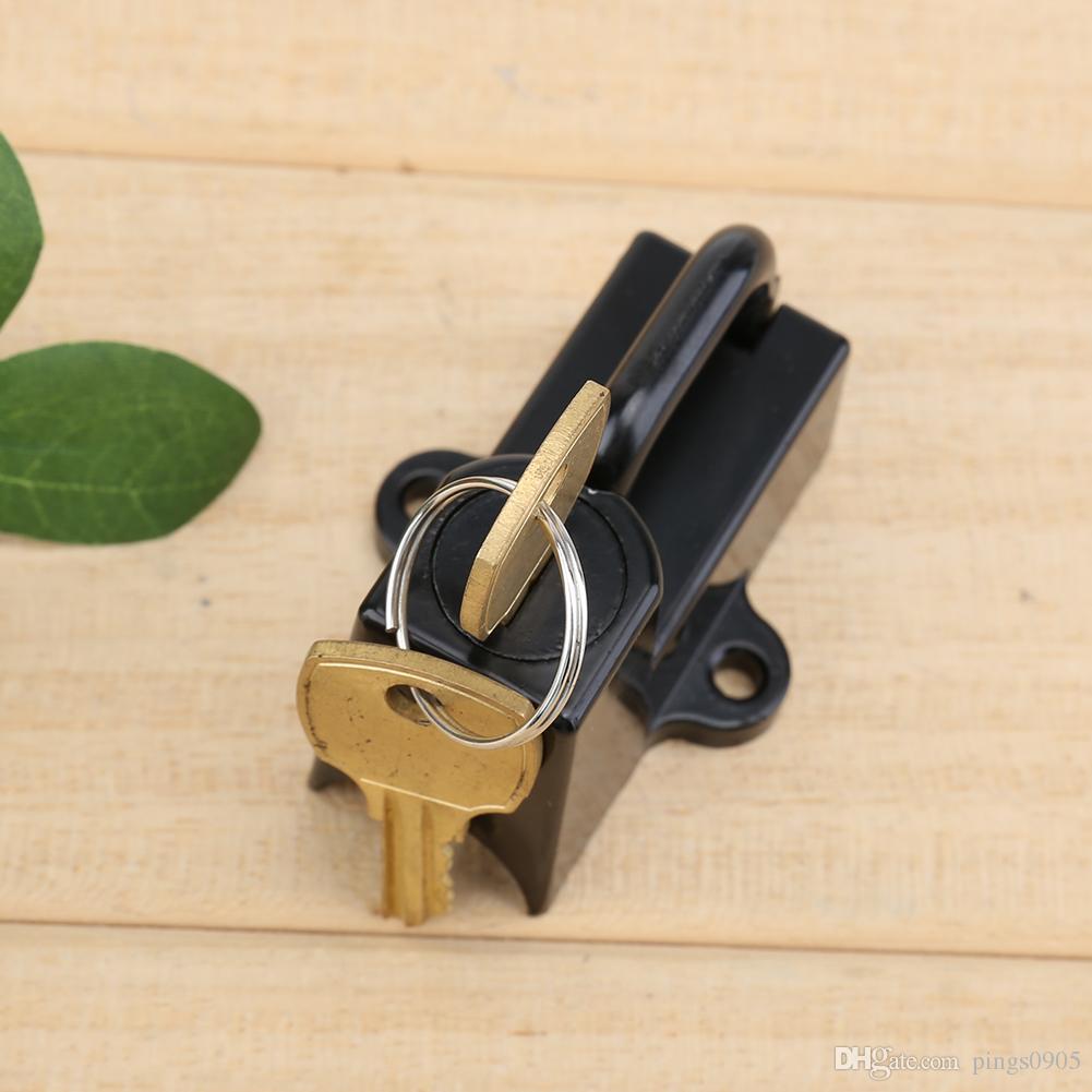 Universal Motorcycle Helmet Lock Security Lock with 2 Keys for Harley Davidsion Moto 22mm