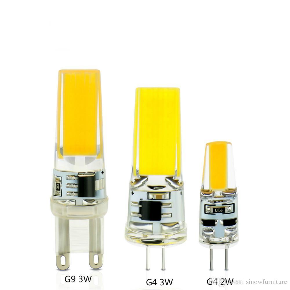 Lights & Lighting Led G4 G9 Lamp Ac 220v 110v 2w 6w Cob Smd Led Lighting Fixtures Replace Halogen Chandelier Lights Bulb For Crystal