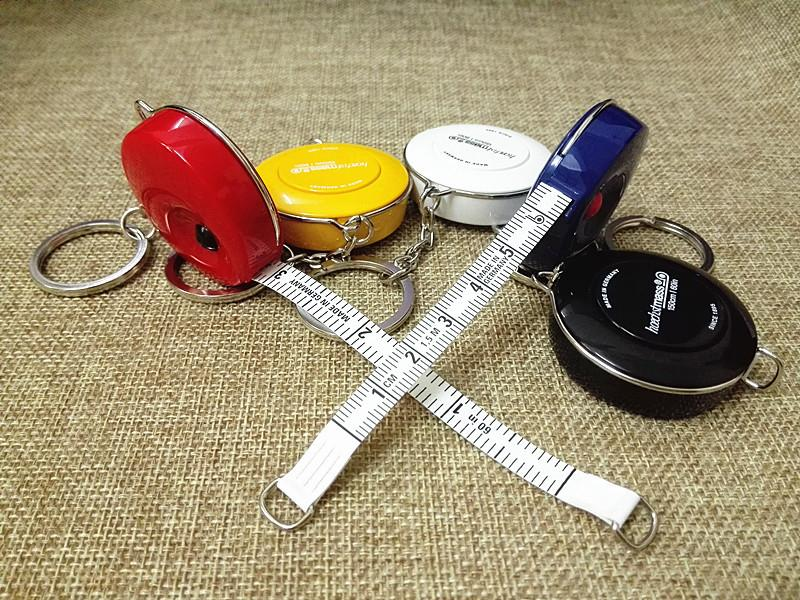 Tape clothing ruler whose clothing tailor keyholders 1.5 meters mini tape