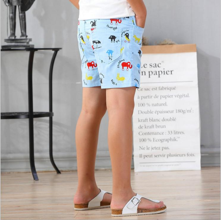 2017 New Arrival Summer Casual Cotton Cartoons Animals Printed Shorts Pants  For Boys Kids Clothing 100 160cm Athletic Shorts For Boys White Shorts For  Kids ... 64a0f32ccb