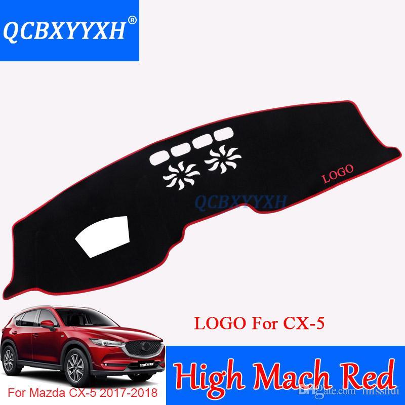 Für Mazda CX-5 2017-2018 High / Low Mach Silikon Armaturenbrett Matte Schutz Innen Photophobismus Pad Schatten Kissen Auto Styling