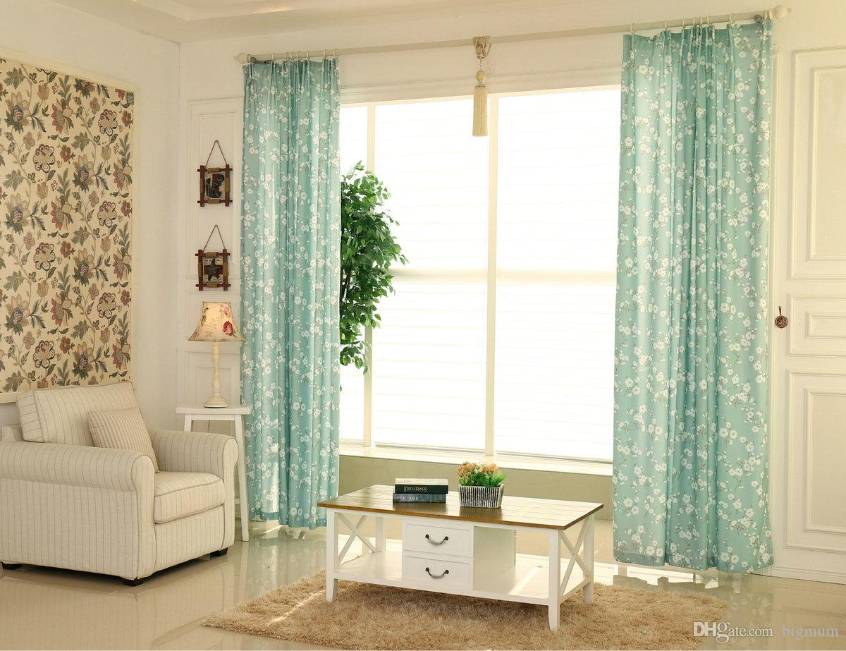 2019 Window Curtain For Kitchen Living Room Bedroom Floral Luxury Flowers  Window Treatment Short Curtains Small Panel Customized From Bigmum, $21.93  | ...