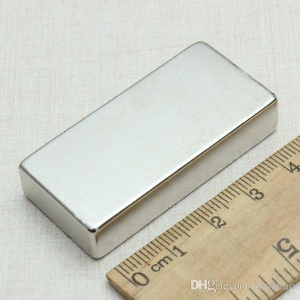 Neodymium Block Magnet 45 X 22 X 8mm N52 Magnets DIY MRO New