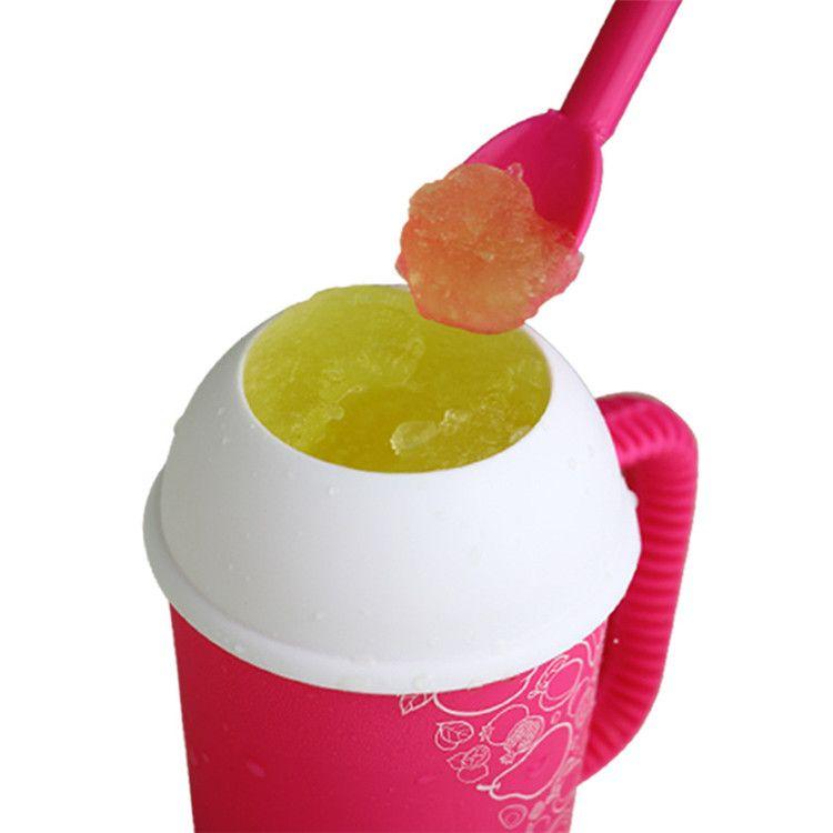 Slushy Magic Mini Mug DIY Salad Cup Milk Shake Mugs 6oz Capacity ECO Friendly Innovative Item Possess FDA LFGB BPA MSDS Certificate
