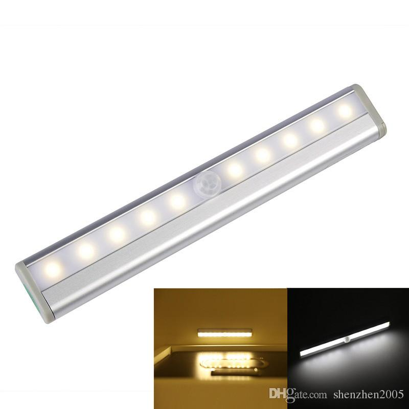 Discount Led Cabinet Lights Usb Lithium Battery Rechargeable Wireless Lamp  Body Sensing Light Bar Magnetic Strip Wall Light From China | Dhgate.Com